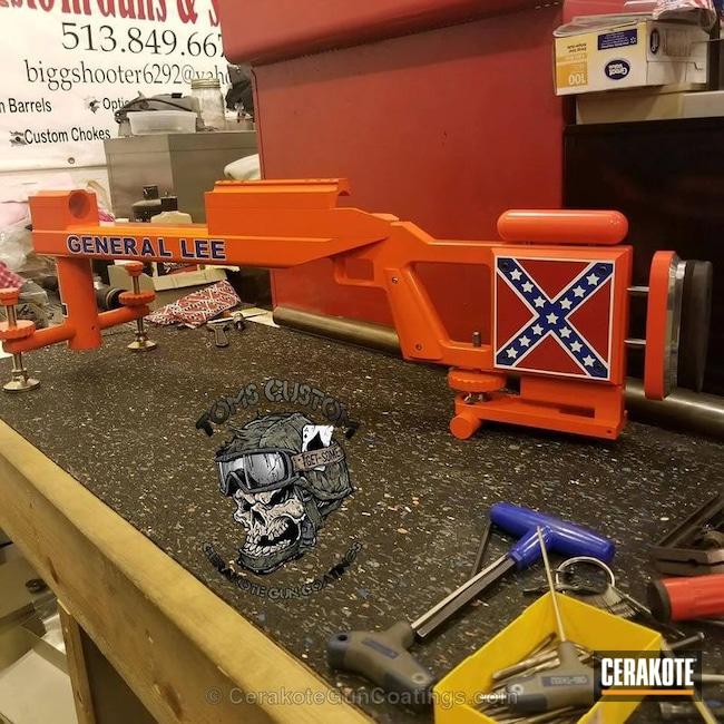 Cerakoted: Bright White H-140,Graphite Black H-146,KEL-TEC® NAVY BLUE H-127,Theme,Hunter Orange H-128,General Lee