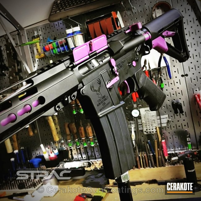 Cerakoted: Graphite Black H-146,Two Tone,Wild Purple H-197,Gen II Graphite Black HIR-146,Tactical Rifle