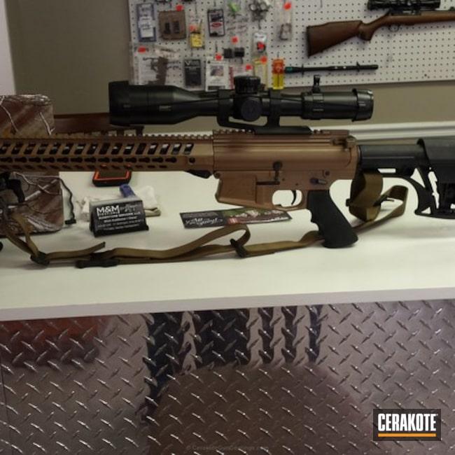 Cerakoted: 6.5 Creedmoor,TROY® COYOTE TAN H-268,Long Range Tactical Rifle