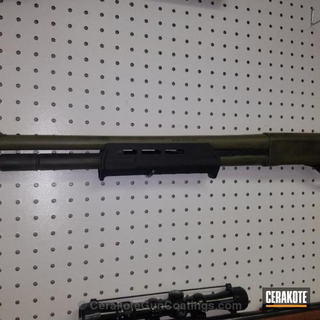 Cerakoted: Battleworn,Shotgun,Noveske Bazooka Green H-189