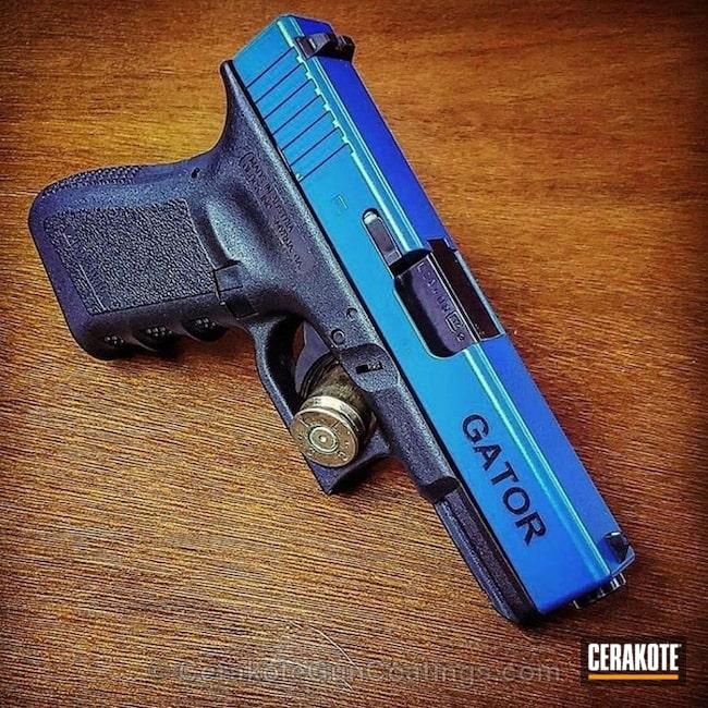 Cerakoted: BLUE FLAME C-158,Pistol,Glock