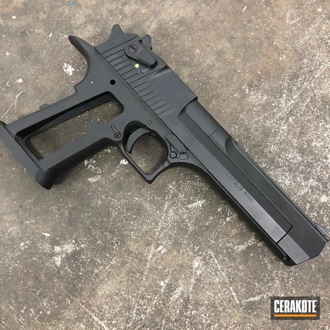 Cerakoted: Desert Eagle,Graphite Black H-146,.357 Magnum,Pistol,Magnum Research Inc