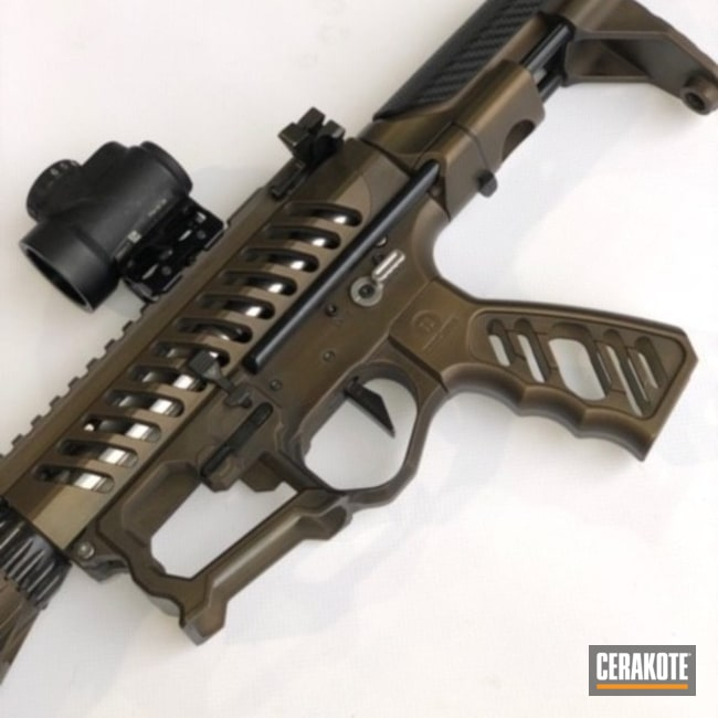 Cerakoted: Battleworn,Graphite Black H-146,Burnt Bronze H-148,Tactical Rifle,AR-15