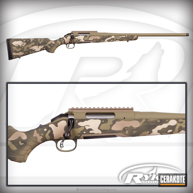 MultiCam Ruger 6.5 Creedmoor Rifle