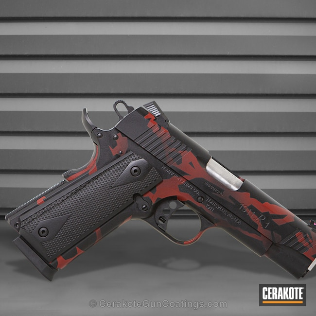 "Thumbnail image for project ""H-146 Graphite Black and H-221 Crimson"""