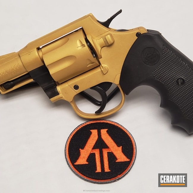 H-122 Gold on this Rock Island Armory 44 Magnum