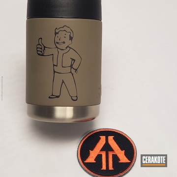 Cerakoted Custom Video Game Themed Can Koozie