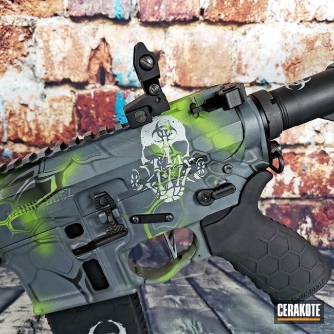 Cerakoted: Sniper Grey H-234,Zombie,Kryptek,Zombie Green H-168,Armor Black H-190,Tactical Rifle,Zombie Apocalypse,Sky Blue H-169,AR-15