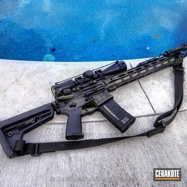 Cerakoted: Graphite Black H-146,Burnt Bronze H-148,Tactical Rifle
