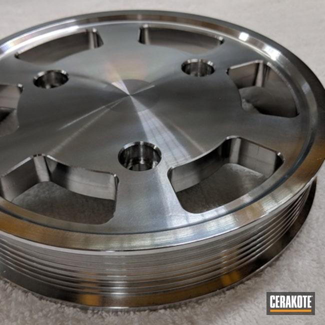 Cerakoted: Cerakote Clear - Aluminum MC-5100Q,Polished Aluminum,Engine Parts,Clear Coat,Cerakote Clear - Aluminum MC-5100,More Than Guns