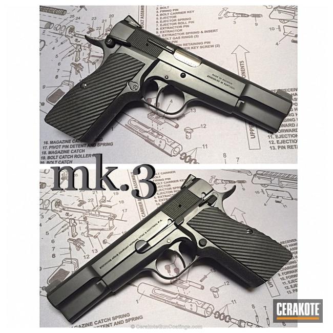 Cerakoted: Graphite Black H-146,Pistol,1911