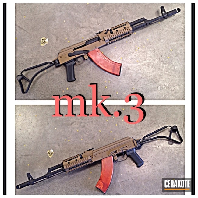 Cerakoted: Graphite Black H-146,AK-47