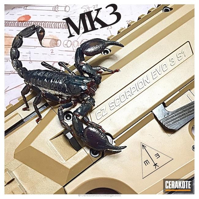 Cerakoted: CZ Scorpion Evo,CZ,Flat Dark Earth H-265