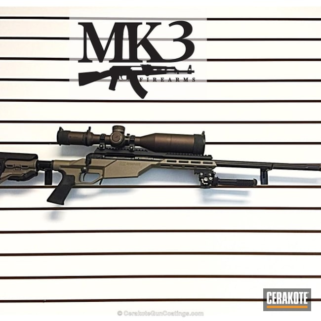 Cerakoted: Bolt Action Rifle,VORTEX® BRONZE H-293,VORTEX® BRONZE C-293
