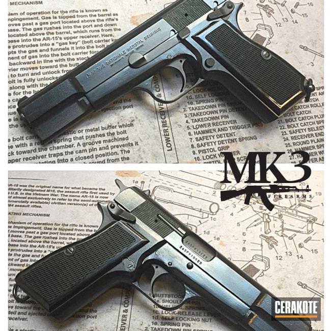 Cerakoted: Graphite Black H-146,Pistol,FN Herstal