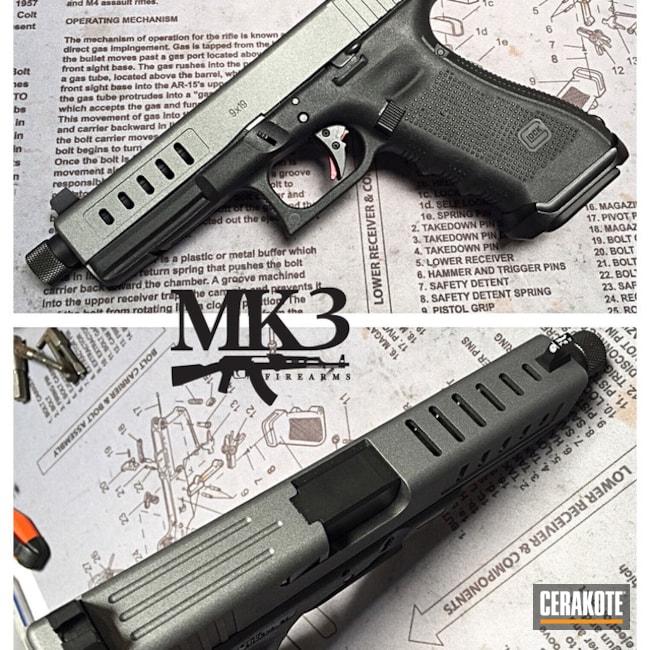 Cerakoted: Tungsten H-237,Pistol,Glock