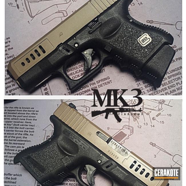 Cerakoted: Pistol,Glock,Flat Dark Earth H-265