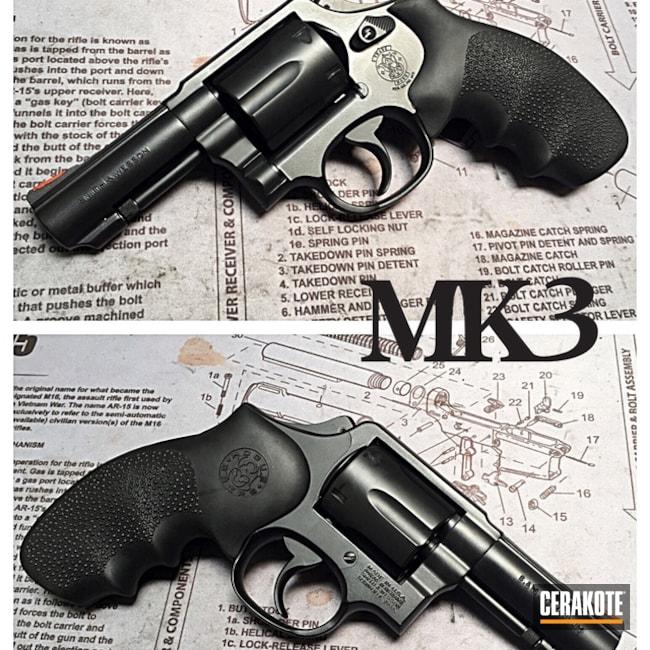 Cerakoted: Graphite Black H-146,Smith & Wesson,Revolver
