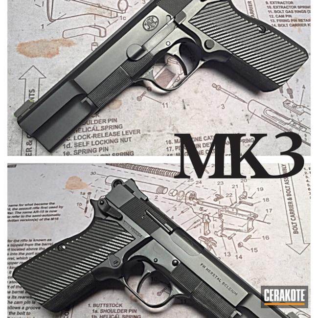Cerakoted: Graphite Black H-146,Pistol,1911,FN Herstal