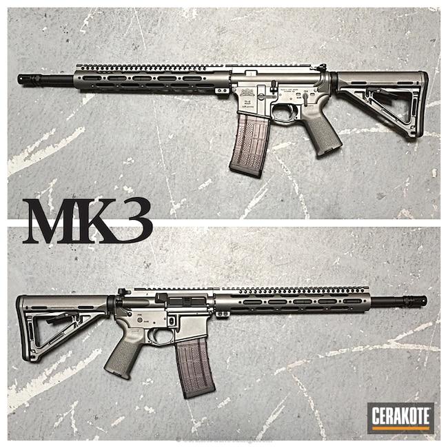 Cerakoted: Palmetto State Armory,Satin Aluminum H-151,Tactical Rifle