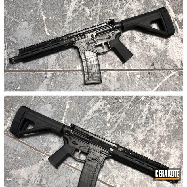 Cerakoted: Graphite Black H-146,Tactical Rifle,Battle Arms,BCM