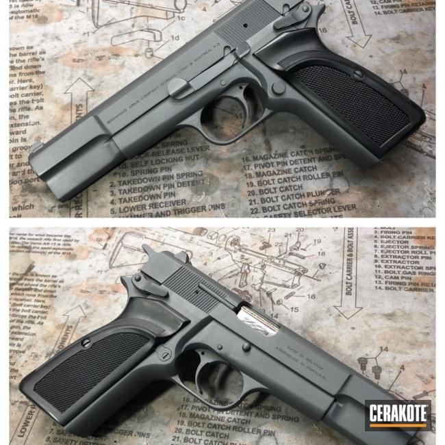 Cerakoted: Sniper Grey H-234,Browning,Pistol,1911