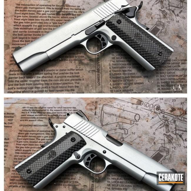 Cerakoted: Satin Aluminum H-151,Pistol,1911