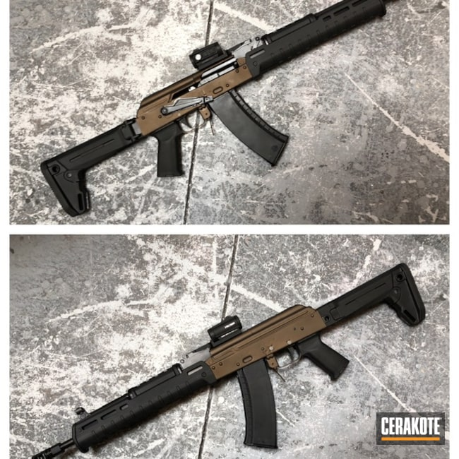 Cerakoted: Burnt Bronze H-148,AK-47
