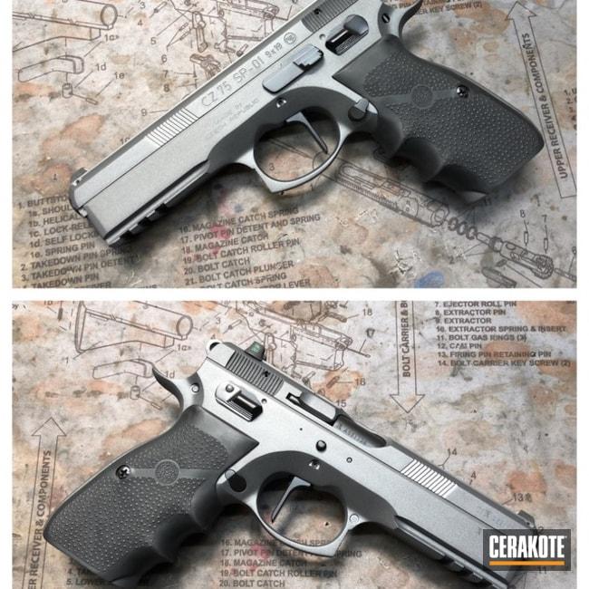 Cerakoted: Sniper Grey H-234,CZ 75,Pistol,CZ