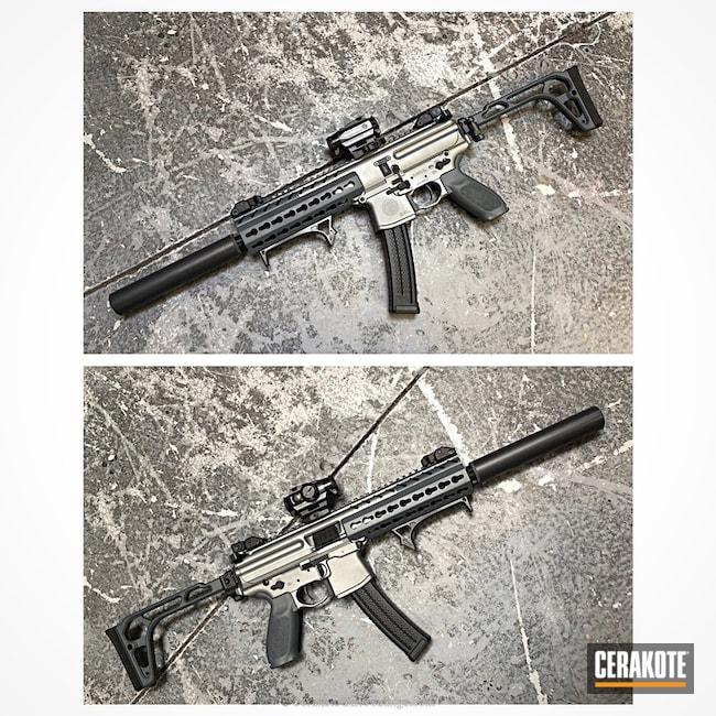 Cerakoted: Satin Aluminum H-151,SMG