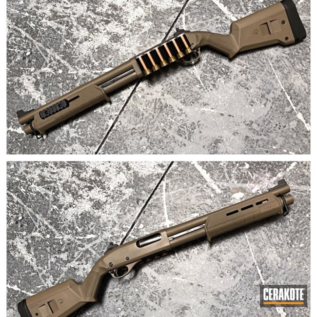 Cerakoted: Shotgun,Solid Tone,Flat Dark Earth H-265