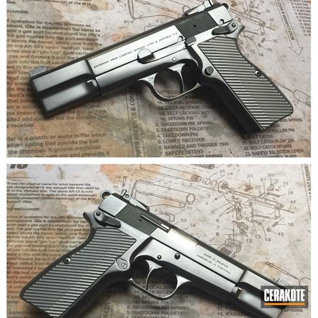 Cerakoted: Graphite Black H-146,Browning,Pistol,1911