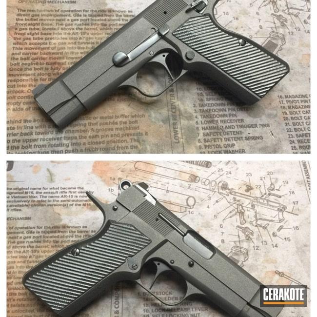 Cerakoted: Pistol,Cobalt H-112