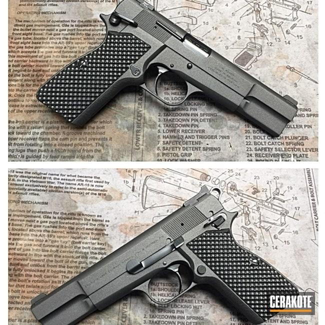 Cerakoted: Browning,Pistol,1911,Cobalt H-112