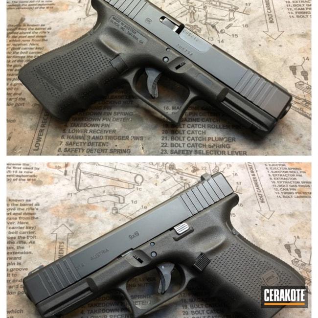 Cerakoted: Graphite Black H-146,Pistol,Glock