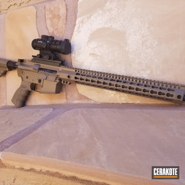 Cerakoted: MAGPUL® FLAT DARK EARTH H-267,DPMS Panther Arms,Tactical Rifle