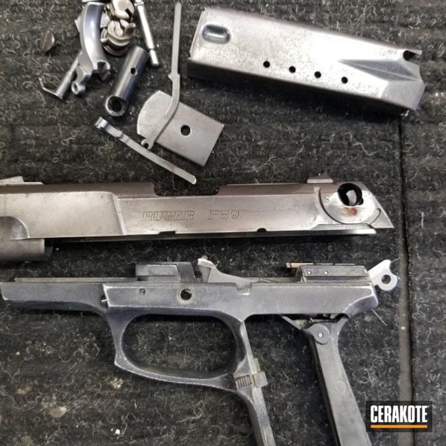 Cerakoted: Ruger,Graphite Black H-146,Pistol,Ruger P89