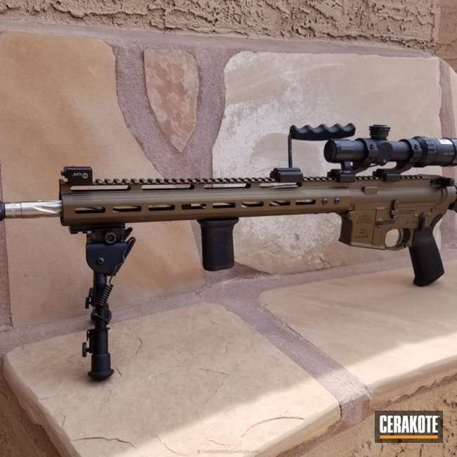 Cerakoted: Burnt Bronze H-148,Tactical Rifle