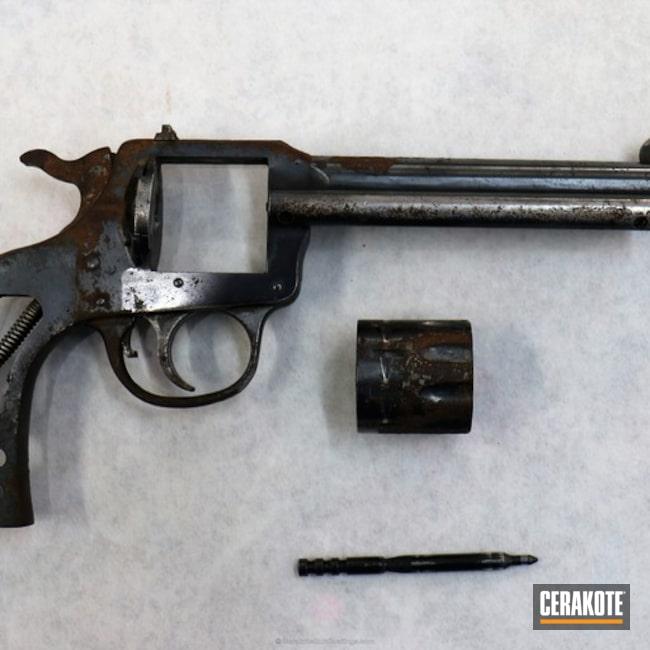 Cerakoted: Midnight Blue H-238,Revolver,Reconditioned
