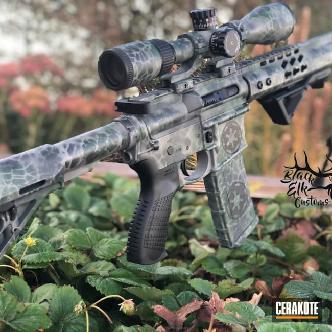 "Thumbnail image for project ""Custom Galactic Empire Camo Finish on this AR-15 Rifle"""