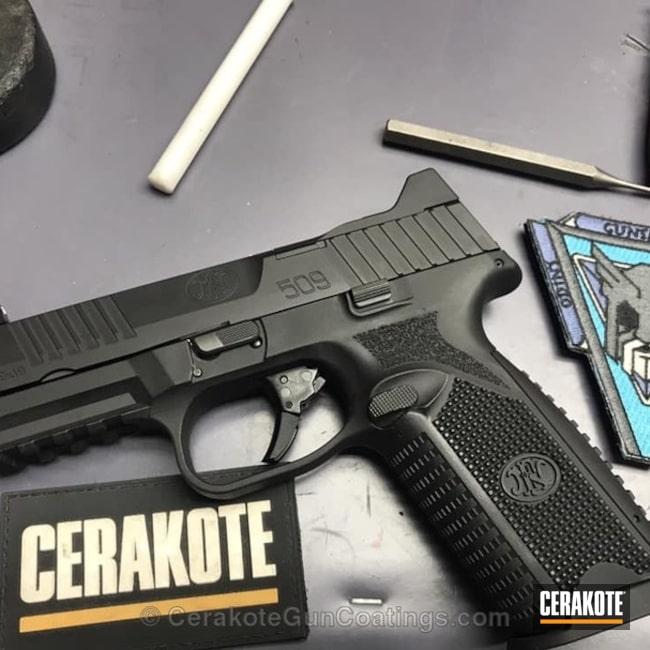 Cerakoted: FNH,Armor Black H-190,Pistol,FN 509