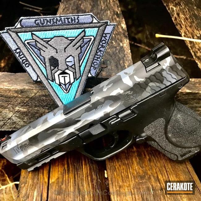 Cerakoted: Sniper Grey H-234,MultiCam,Smith & Wesson,Tungsten H-237,Smith & Wesson M&P,Armor Black H-190,Pistol