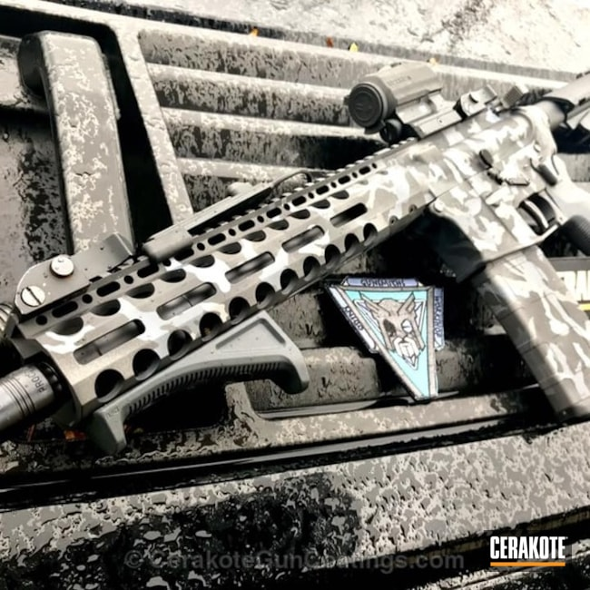 Cerakoted: Custom Mix,Sniper Grey H-234,MultiCam,Tungsten H-237,Camo,Armor Black H-190,Tactical Rifle,Urban Camo,AR-15