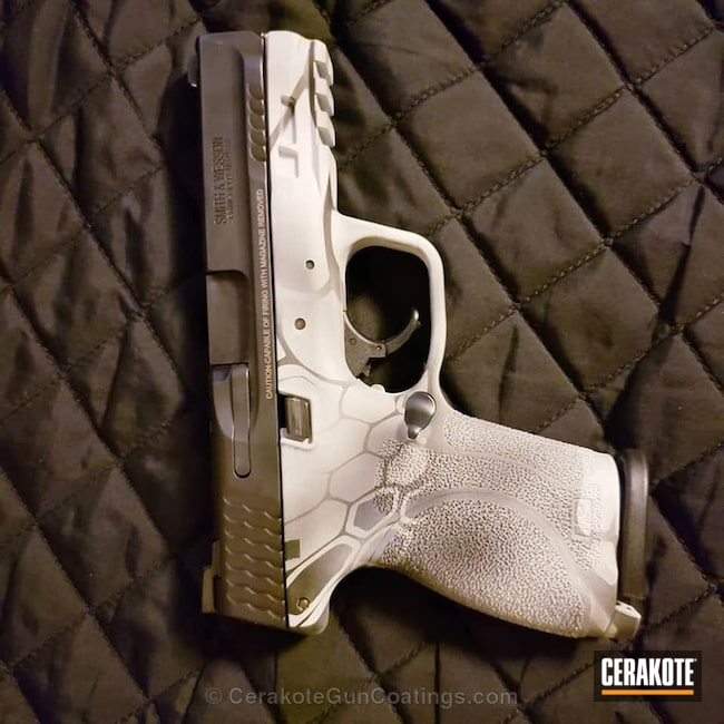 Cerakoted: Sniper Grey H-234,Kryptek,Graphite Black H-146,Smith & Wesson,BATTLESHIP GREY H-213,Pistol