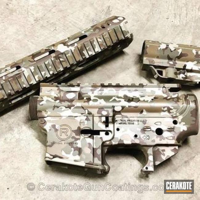 Cerakoted: ocp,Radical Firearms,FS BROWN SAND H-30372,HAZEL GREEN H-204,MultiCam,Spike's Tactical,BARRETT® BROWN H-269,Tactical Rifle,Chocolate Brown H-258,AR-15