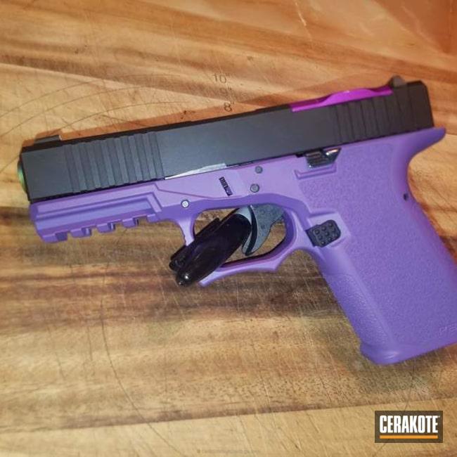Cerakoted: Bright Purple H-217,Two Tone,Pistol,Glock