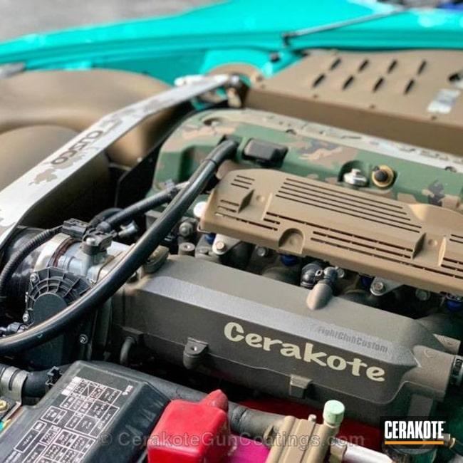 Cerakoted: Highland Green H-200,Steel Grey H-139,MAGPUL® FLAT DARK EARTH H-267,Engine Cover,Graphite Black H-146,Burnt Bronze H-148,More Than Guns,Satin Aluminum H-151,Automotive