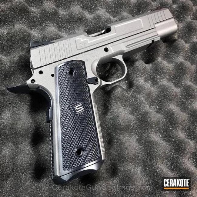 Cerakoted: Midnight Blue H-238,Stainless H-152,Pistol