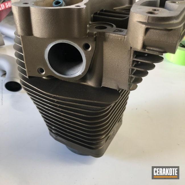 Cerakoted: Burnt Bronze H-148,More Than Guns,Cylinder Block