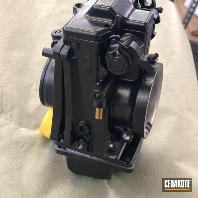 Cerakoted: Graphite Black H-146,Carburetor,More Than Guns